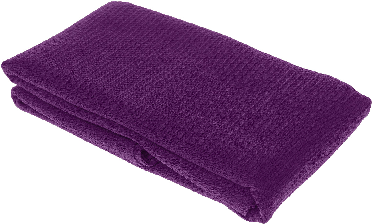 Полотенце-простыня для бани и сауны Банные штучки, цвет: фиолетовый, 80 х 150 смC0042416Вафельное полотенце-простыня для бани и сауны Банные штучки изготовлено из натурального хлопка. В парилке можно лежать на нем, после душа вытираться, а во время отдыха использовать как удобную накидку. Такое полотенце-простыня идеально подойдет каждому любителю бани и сауны.