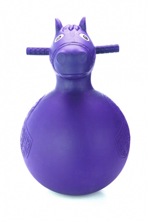 Bradex Игрушка-попрыгун Веселая лошадка цвет фиолетовый
