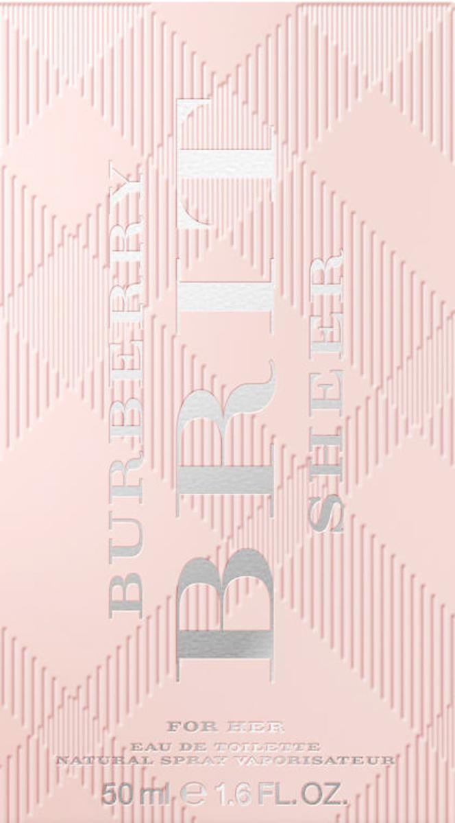 Burberry Brit Sheer Woman Туалетная вода, 50 мл1301210Автор аромата - Emilie Coppermann. Парфюм был разработан для воплощение юного и жизнерадостного настроения Burberry Brit, а также для того, чтобы подчеркнуть индивидуальность и редкую харизму женщины, для которой был создан этот аромат. Цветочно-фруктовая композиция очень нежная, веселая и свежая.Этот парфюм - воплощение молодого духа Burberry.Классификация аромата: Цветочные. Мускус, мандарин, древесина, груша, пион, ананас (листья), личи, юзу, душистый горошек, виноград, персик (цветок).Туалетная вода - один из самых популярных видов парфюмерной продукции. Туалетная вода содержит 4-10%парфюмерного экстракта. Главные достоинства данного типа продукции заключаются в доступной цене, разнообразии форматов (как правило, 30, 50, 75, 100 мл), удобстве использования (чаще всего - спрей). Идеальна для дневного использования.Товар сертифицирован.