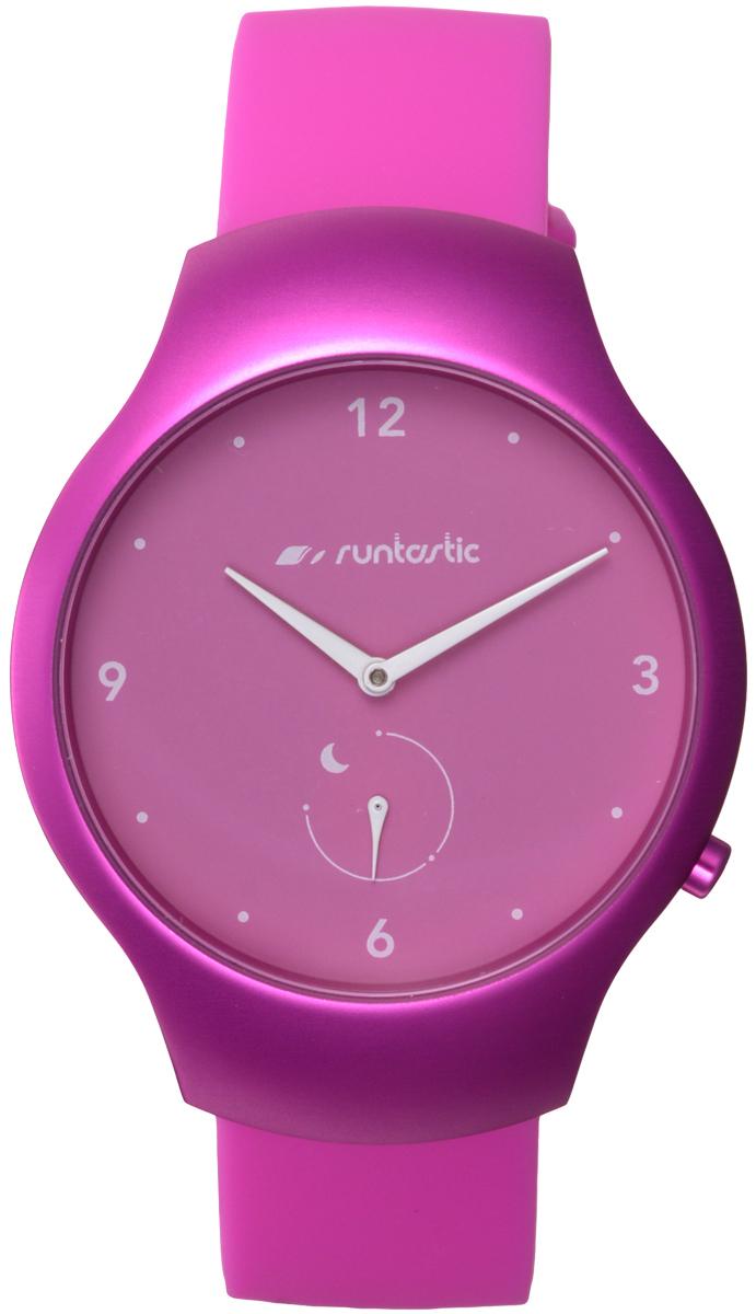 Часы наручные Runtastic Moment Fun, спортивные, цвет: розовый. RUNMOFU3RNT_RUNMOFU3Спортивные часы Runtastic Moment Fun выполнены из нержавеющей стали, пластика, силикона и минерального стекла. Модель Runtastic Moment Fun представляет собой стильные наручные часы с круглым аналоговым циферблатом.Многофункциональные спортивные часы оснащены функцией Bluetooth Smart, которая позволит синхронизировать часы с самртфоном. Корпус часов имеет степень водонепроницаемости 100м и дополнен устойчивым к царапинам минеральным стеклом. Ремешок часов выполнен из силикона, а также оснащен практичной пряжкой, которая позволит с легкостью снимать и надевать изделие.Комплект поставки включает: часы, элемент питания, инструмент для замены элемента питания, 4 дополнительных винта.Изделие поставляется в фирменной упаковке.Гаджет способен оживить любой наряд и идеально подходит для активного образа жизни. Высокое качество, свежий дизайн и инновационные технологии позволяют достигать поставленных целей, контролировать ежедневный прогресс. Совместимость с iPhone 4s и более новыми моделями, со смартфонами на базе Android (v4.3 и новее) поддерживающими Bluetooth 4.0 Smart; смартфонами и планшетами на базе Windows Phone (v8.1 и новее), поддерживающими Bluetooth 4.0 Smart.