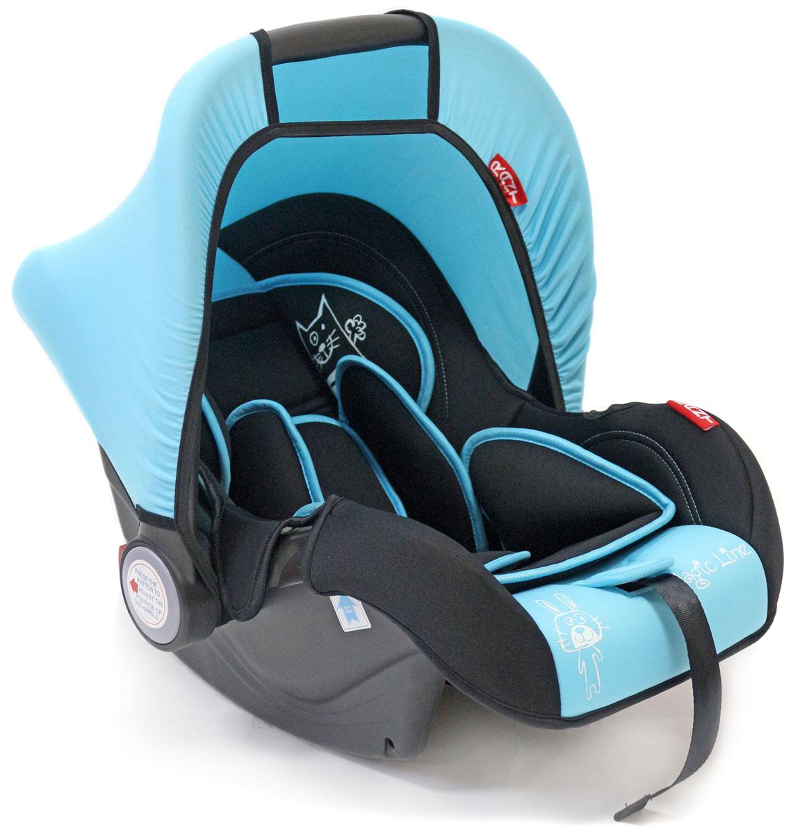 Rant Автокресло Miracle цвет голубой до 13 кг4630008876664Детское автокресло-переноска Rant Miracle разработано для малышей весом до 13 кг (приблизительно до 12 месяцев).Особенности: Сиденье удобной формы с мягким вкладышем обеспечивает защиту и идеальное положение шеи и спины малыша, а также делает кресло комфортным и безопасным. Автокресло (переноска) Miracle имеет внутренние 3-х точечные ремни безопасности с плечевыми накладками (уменьшают нагрузку на плечи малыша). Накладки обеспечивают плотное прилегание и надежно удержат малыша в кресле в случае ударов. Ремни удобно регулировать под рост и комплекцию ребенка без особых усилий. Удобная ручка для переноски малыша регулируется в 4-х положениях: для устойчивости автокресла в автомобиле, для переноски малыша, вне автомобиля автокресло можно использовать как кресло-качалку или кресло-шезлонг. Съемный тент защитит от яркого солнца или ветра, когда вы гуляете с малышом на свежем воздухе. Съемный чехол автокресла Miracle изготовлен из гипоаллергенной эластичной ткани, легко чистится и стирается вручную или в деликатном режиме в стиральной машине при температуре 30°.Установка и крепление: Автокресло (переноска) Miracle устанавливается лицом против движения автомобиля и крепится штатными автомобильными ремнями. Ребенок фиксируется внутренними ремнями безопасности. Такое положение обеспечивает максимальную безопасность маленькому пассажиру. Рекомендуется устанавливать автокресло на заднем сиденье автомобиля. Производитель допускает перевозку на переднем сиденье, в этом случае необходимо отключить фронтальные подушки безопасности. Автокресло (переноска) Miracle сертифицировано и соответствует европейскому стандарту безопасности ECE R44-04.
