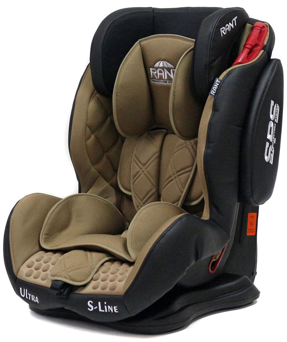 Rant Автокресло Ultra SPS цвет кофейный от 9 до 36 кгВетерок 2ГФАвтокресло Rant Ultra SPS группы 1-2-3 предназначено для детей весом от 9 до 36 кг (возраст от 9 месяцев до 12 лет), крепится штатными ремнями безопасности автомобиля, устанавливается по ходу движения автомобиля. Кресло оснащено пятиточечным ремнем безопасности с мягкими плечевыми накладками и антискользящими нашивками, 3-х ступенчатой настройкой высоты подголовника, корректировкой высоты ремня безопасности по уровню подголовника. 3 положения наклона корпуса, устойчивая база, фиксатор высоты штатных ремней безопасности, дополнительная боковая защита, съемный чехол, мягкий съемный вкладыш для малыша делают это кресло идеальным средством для защиты ребенка во время передвижения на автомобиле.Сертификат Европейского Стандарта Безопасности ЕCE R44/04.