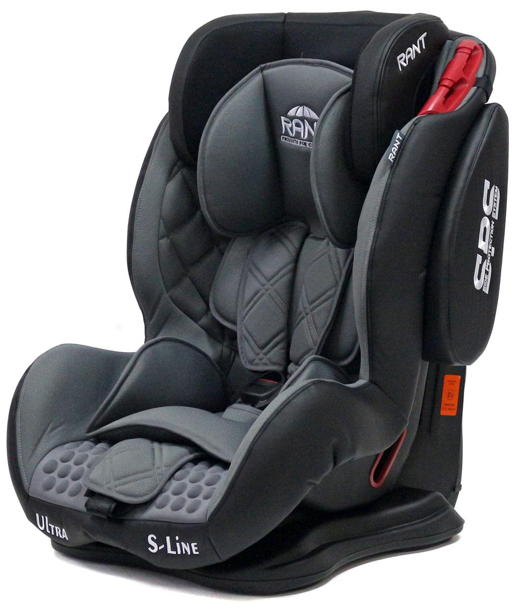 Rant Автокресло Ultra SPS цвет серый от 9 до 36 кг80625Автокресло Rant Ultra SPS группы 1-2-3 предназначено для детей весом от 9 до 36 кг (возраст от 9 месяцев до 12 лет), крепится штатными ремнями безопасности автомобиля, устанавливается по ходу движения автомобиля. Кресло оснащено пятиточечным ремнем безопасности с мягкими плечевыми накладками и антискользящими нашивками, 3-х ступенчатой настройкой высоты подголовника, корректировкой высоты ремня безопасности по уровню подголовника. 3 положения наклона корпуса, устойчивая база, фиксатор высоты штатных ремней безопасности, дополнительная боковая защита, съемный чехол, мягкий съемный вкладыш для малыша делают это кресло идеальным средством для защиты ребенка во время передвижения на автомобиле.Сертификат Европейского Стандарта Безопасности ЕCE R44/04.