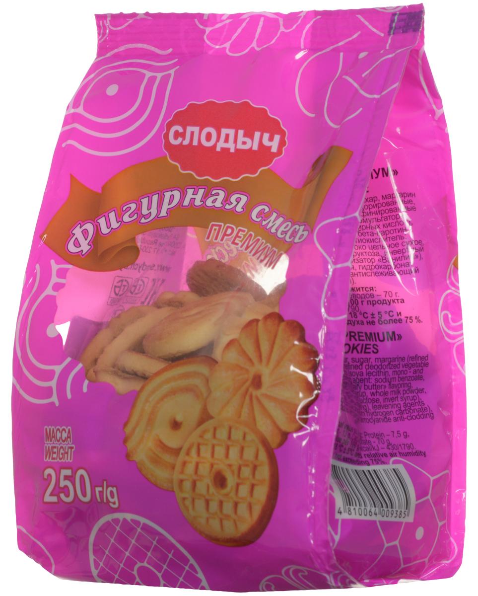 Слодыч Фигурная смесь премиум печенье, 250 г