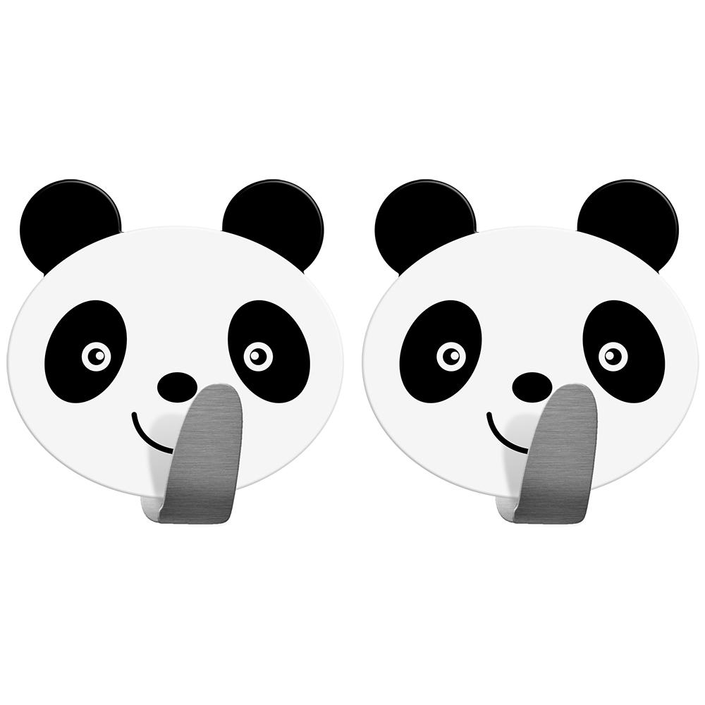 Крючок Tatkraft Panda, самоклеящийся, 2 шт68/5/3Крючок Tatkraft Panda - самоклеящийся крючок из нержавеющей стали. Надежная фиксация. Выдерживает вес до 5 кг.