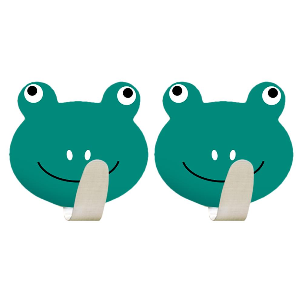 Крючок Tatkraft Frogs, самоклеящийся, 2 шт набор из 4 крючков tatkraft swiss
