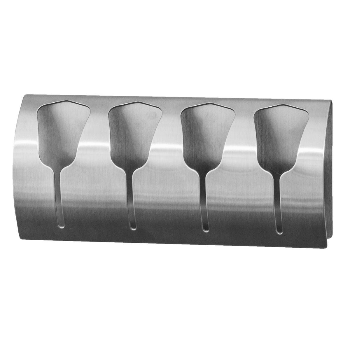 Вешалка Tatkraft Florida, самоклеящийся, для 4 полотенец531-105Вешалка Tatkraft Florida - вешалка на самоклеящийся основе для 4 полотенец из нержавеющей стали, не боится влаги, удобна в использовании. Легкая установка (инструкция на упаковке), надежный клеевой слой, выдерживает вес до 15 кг.