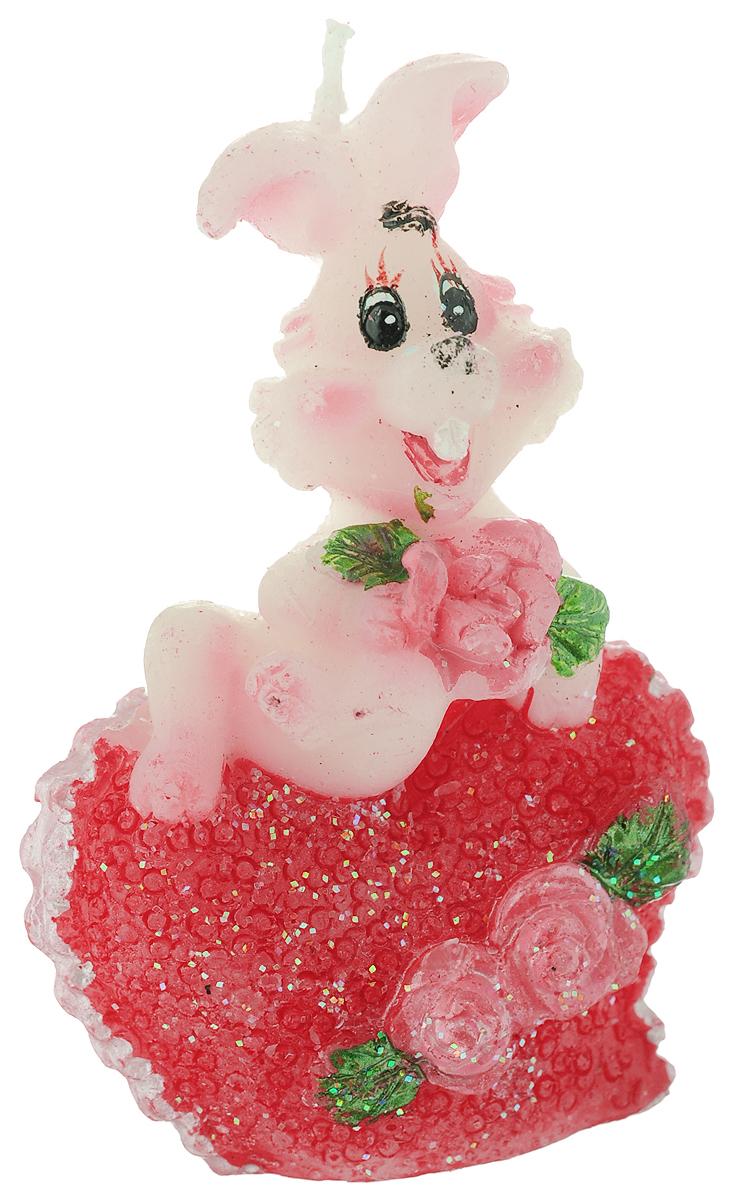 Свеча декоративная Lunten Ranta Влюбленный кролик с розами74-0120Свеча декоративная Lunten Ranta Влюбленный кролик с розами -отличный подарок, подчеркивающий яркую индивидуальность того, кому он предназначается. Изделие выполнено из парафина в виде кролика, держащего цветы. Такая свеча украсит интерьер вашего дома или офиса. Оригинальный дизайн и красочное исполнение создадут отличное настроение.