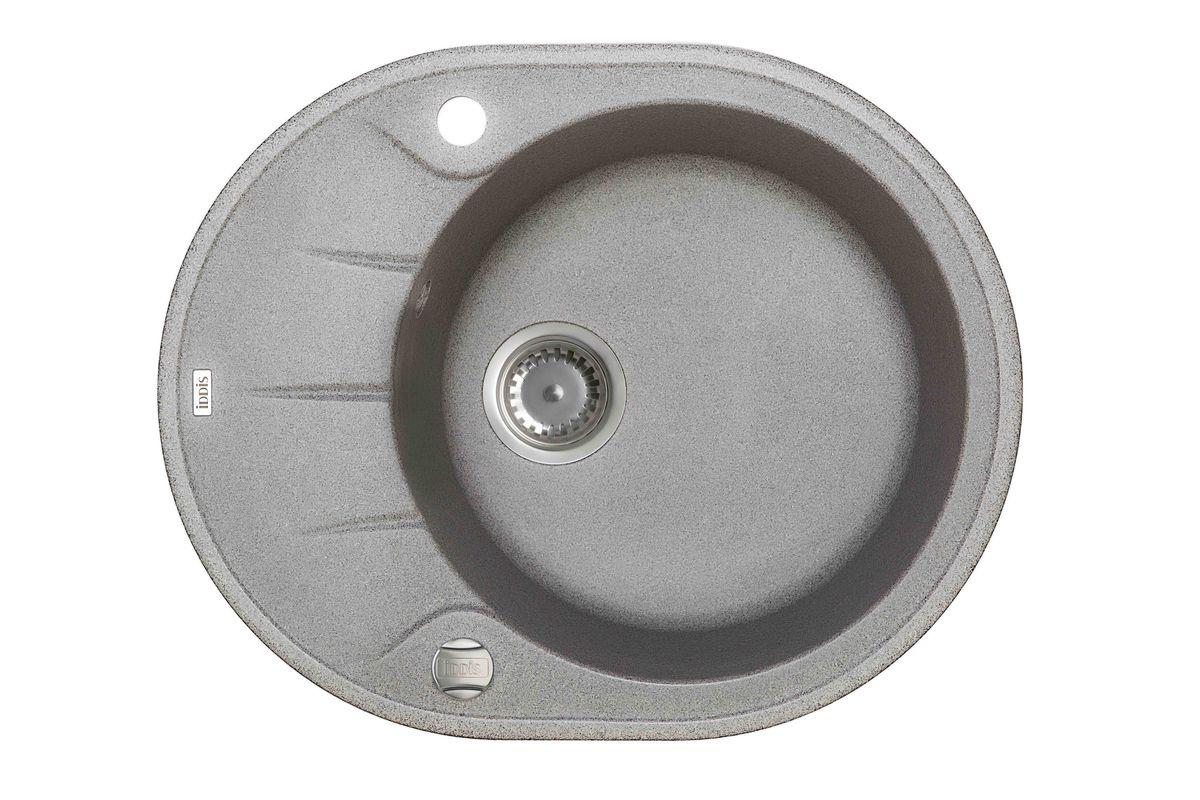 Мойка Iddis Kitchen G, Granucryl, цвет: серый, 62 х 50 см. K07G621i8746611276Мойки для кухни Iddis производятся из особого материала Granucryl: 80% натуральной гранитной крошки производства Германии, 20% акриловой смолы. Благодаря этому, он имеет высокую устойчивость к физическим и механическим воздействиям, стойкость к воздействию средств бытовой химии и перепадам температур во время эксплуатации - свойства, необходимые для комфортного и надежного использования мойки на современной кухне.Термостойкость. Granucryl выдерживает температуру до 280С, что позволяет хозяйкам ставить на мойку даже раскаленную посуду во время приготовления пищи. Стойкость цвета. Однородность материала Granucryl и высокотемпературная пигментация гранитной крошки обеспечивает первозданную яркость цвета мойки в течение всего периода эксплуатации. Пигментация происходит во вращающихсяпечах при температуре до 600 градусов. Каждая частица гранита химически связывается с пигментом, получая свой неповторимый цвет. При этом цвет никогда не выцветает и не может быть удален с поверхности мойки.Практичность.Мелкие царапины, образующиеся при использовании, не видны на мойках IDDIS благодаря однородной структуре и пигментации гранитной крошки материала Granucryl. Гигиеничность.Состав материала Granucryl препятствует размножению бактерий на поверхности моек, что гарантирует их безопасность в условиях повышенной влажности кухни. Гигиеничность материала Granucryl подтверждена немецким институтом гигиены.Мойки Granucryl имеют полный комплект для установки: шаблон для выреза отверстия в столешнице, крепления, автоматический выпуск с переливом и плоский сифон с возможностью подключения посудомоечной или стиральной машины. Наличие готовых отверстий под смеситель и кнопку донного клапана позволяет быстро и легко установить эти изделия на мойку.Мойки Granucryl, благодаря составу материала, а также толщине 10 мм, поглощают шум воды. Гарантия на мойки Granucryl торговой марки Iddis составляет 10 лет.Мойки Granucryl