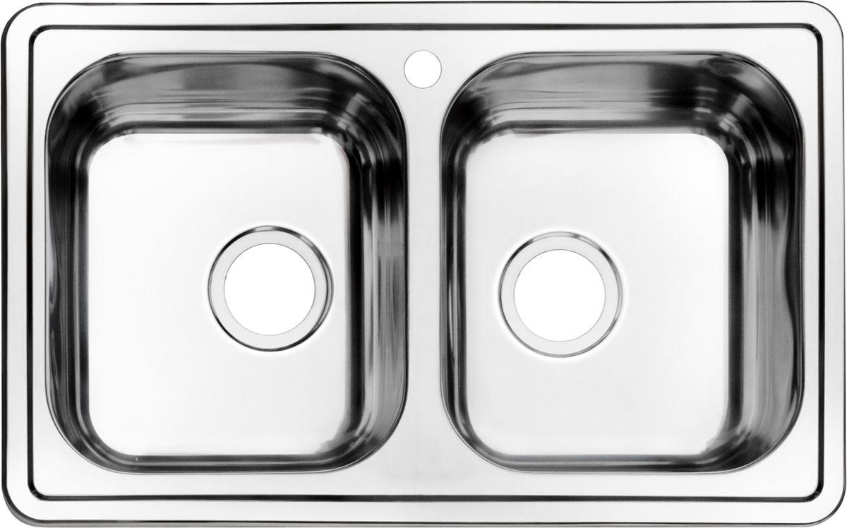 Мойка Iddis Strit, 2 чаши, 78 х 48 см. STR78S2i77REE61SLi77Корпус мойки Iddis Strit выполнен из специальной нержавеющей стали марки 304 с содержанием хрома 18%, и никеля 10%. Это гарантирует устойчивость к воздействию химических веществ, появлению пятен и коррозии. Толщина стали в мойке 0,8 мм. Специальное дополнительное антишумовое покрытие Silenon, нанесенное на обратную сторону чаш, разработано для снижения шума воды в мойке.Конструкция краев мойки, крепления и специальная уплотнительная прокладка обеспечивает максимально плотное прилегание к столешнице и защищает от протекания. Мойка из нержавеющей стали Iddis имеет изготовленное на заводе отверстие под смеситель, что делает ее полностью готовой к установке. Наличие шаблона для выреза отверстия в столешнице для каждой модели облегчает процесс установки моек Iddis.Гарантия на мойки из нержавеющей стали Iddis составляет 15 лет.Глубина чаши: 180 мм, размер чаш: 330 х 380 мм.