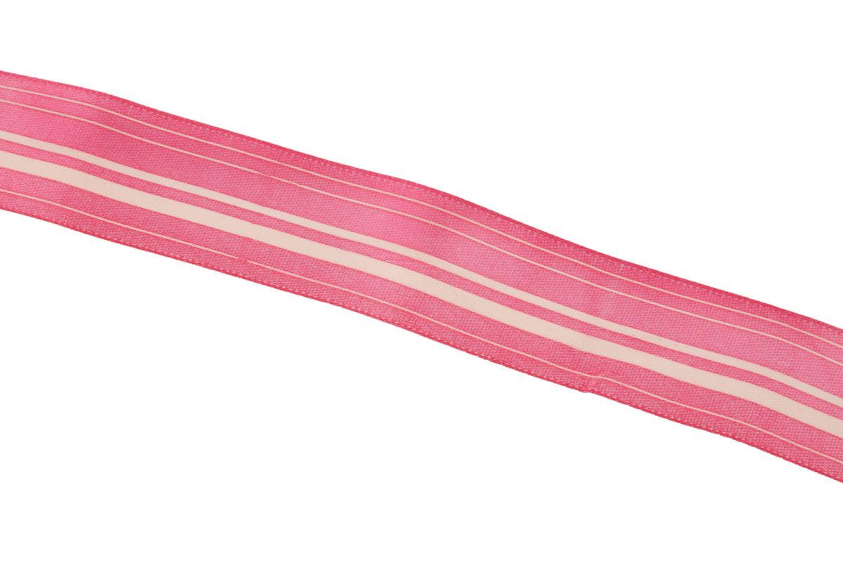 Лента атласная Dekor Line Горизонталь, цвет: темно-розовый, светло-розовый, 2,5 х 300 смC0038550Атласная лента Dekor Line Горизонталь выполнена из высококачественного полиэстера. Область применения атласной ленты весьма широка. Она предназначена для оформления цветочных букетов, подарочных коробок, пакетов. Кроме того, лента с успехом применяется для художественного оформления витрин, праздничного оформления помещений, изготовления искусственных цветов. Ее можно использовать для творчества в различных техниках: скрапбукинг, оформление аппликаций, для украшения фотоальбомов, подарков, конвертов, фоторамок, открыток и прочего.Ширина ленты: 2,5 см.Длина ленты: 3 м.