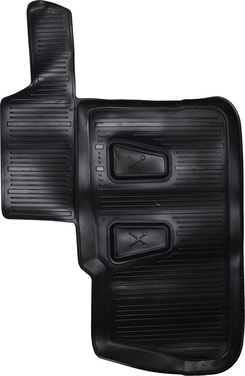 Коврики в салон автомобиля L.Locker, для Сhevrolet Captiva (06), третий ряд сиденийВетерок 2ГФКоврики L.Locker производятся индивидуально для каждой модели автомобиля из современного и экологически чистого материала. Изделия точно повторяют геометрию пола автомобиля, имеют высокий борт, обладают повышенной износоустойчивостью, антискользящими свойствами, лишены резкого запаха и сохраняют свои потребительские свойства в широком диапазоне температур (от -50°С до +80°С). Рисунок ковриков специально спроектирован для уменьшения скольжения ног водителя и имеет достаточную глубину, препятствующую свободному перемещению жидкости и грязи на поверхности. Одновременно с этим рисунок не создает дискомфорта при вождении автомобиля. Водительский ковер с предустановленными креплениями фиксируется на штатные места в полу салона автомобиля. Новая технология системы креплений герметична, не дает влаге и грязи проникать внутрь через крепеж на обшивку пола.