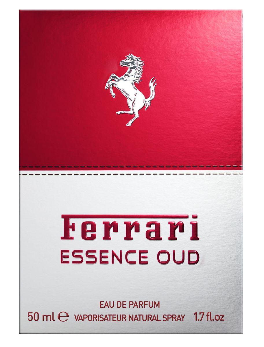 Ferrari Парфюмерная вода ESSENCE OUD/ ЭССЕНС УД мужская, 50 млWS 7064Essence Oud Ferrari - это аромат для мужчин, принадлежит к группе ароматов восточные. Essence Oud выпущен в 2012. Верхняя нота: дерево Агар; ноты сердца: Элеми, олибанум, роза, Тмин и шафран; ноты базы: Лабданум и кожа