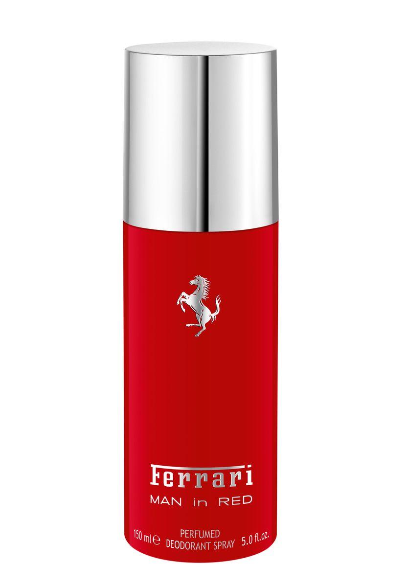 Ferrari Дезодорант-спрей парфюмированный MAN in RED мужской, 150 млMP59.4DMan in RedFerrari- это аромат для мужчин, принадлежит к группе ароматов фужерные. Это новый аромат,Man in Redвыпущен в 2015. Верхние ноты: Бергамот, Красное яблоко и кардамон; ноты сердца: Лаванда, желтая слива и Апельсиновый цвет; ноты базы: Белый кедр, Тонка бобы и Лабданум.