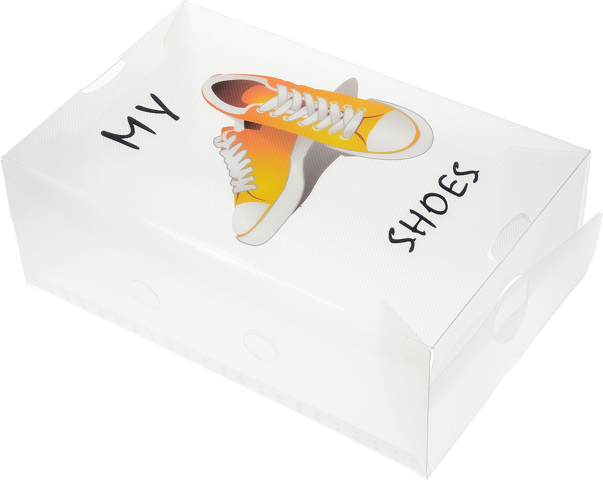 Коробка для хранения обуви Youll love, 33 х 20 х 12 см41619Коробка Youll love изготовлена из высококачественного прозрачного полипропилена. Она специально предназначена для хранения обуви. Изделие легко собирается и не занимает много места. С помощью боковой крышки можно доставать обувь, не снимая коробку с полки.Коробка для хранения Youll love- идеальное решение для аккуратного хранения вашей обуви в межсезонье.Размер коробки (в собранном виде): 33 х 20 х 12 см.