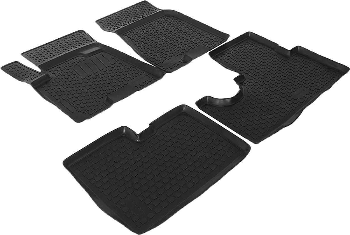Набор автомобильных ковриков L.Locker для Hyundai Tucson (04-), в салон, 4 шт0204040101Коврики L.Locker производятся индивидуально для каждой модели автомобиля из современного и экологически чистого материала, точно повторяют геометрию пола автомобиля, имеют высокий борт от 3 см до 4 см, обладают повышенной износоустойчивостью, антискользящими свойствами, лишены резкого запаха, сохраняют свои потребительские свойства в широком диапазоне температур (от -50°С до +80°С).