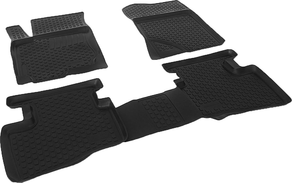 Коврики в салон автомобиля L.Locker, для Hyundai i30 (07-), 4 коврика21395598Коврики L.Locker производятся индивидуально для каждой модели автомобиля из современного и экологически чистого материала. Изделия точно повторяют геометрию пола автомобиля, имеют высокий борт, обладают повышенной износоустойчивостью, антискользящими свойствами, лишены резкого запаха и сохраняют свои потребительские свойства в широком диапазоне температур (от -50°С до +80°С). Рисунок ковриков специально спроектирован для уменьшения скольжения ног водителя и имеет достаточную глубину, препятствующую свободному перемещению жидкости и грязи на поверхности. Одновременно с этим рисунок не создает дискомфорта при вождении автомобиля. Водительский ковер с предустановленными креплениями фиксируется на штатные места в полу салона автомобиля. Новая технология системы креплений герметична, не дает влаге и грязи проникать внутрь через крепеж на обшивку пола.