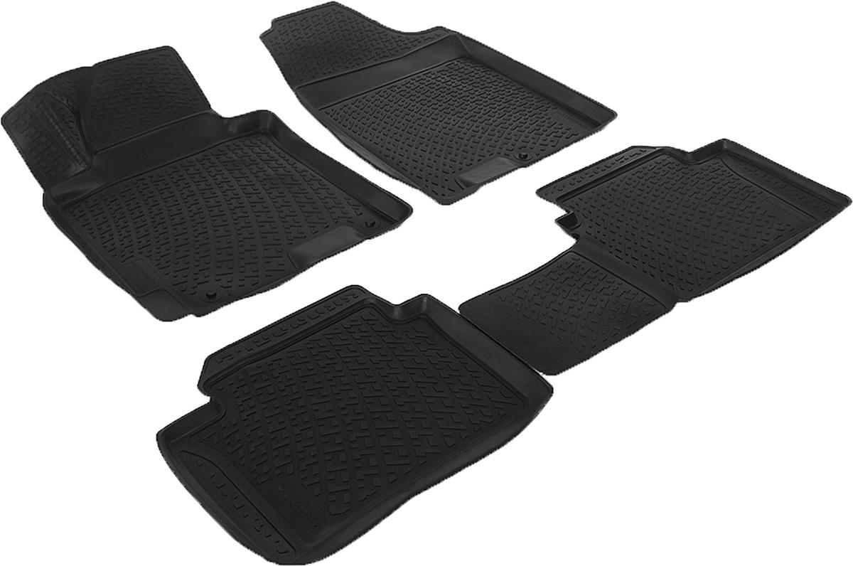 Коврики в салон автомобиля L.Locker, для Hyundai i30 (12-)21395599Коврики L.Locker производятся индивидуально для каждой модели автомобиля из современного и экологически чистого материала. Изделия точно повторяют геометрию пола автомобиля, имеют высокий борт, обладают повышенной износоустойчивостью, антискользящими свойствами, лишены резкого запаха и сохраняют свои потребительские свойства в широком диапазоне температур (от -50°С до +80°С). Рисунок ковриков специально спроектирован для уменьшения скольжения ног водителя и имеет достаточную глубину, препятствующую свободному перемещению жидкости и грязи на поверхности. Одновременно с этим рисунок не создает дискомфорта при вождении автомобиля. Водительский ковер с предустановленными креплениями фиксируется на штатные места в полу салона автомобиля. Новая технология системы креплений герметична, не дает влаге и грязи проникать внутрь через крепеж на обшивку пола.