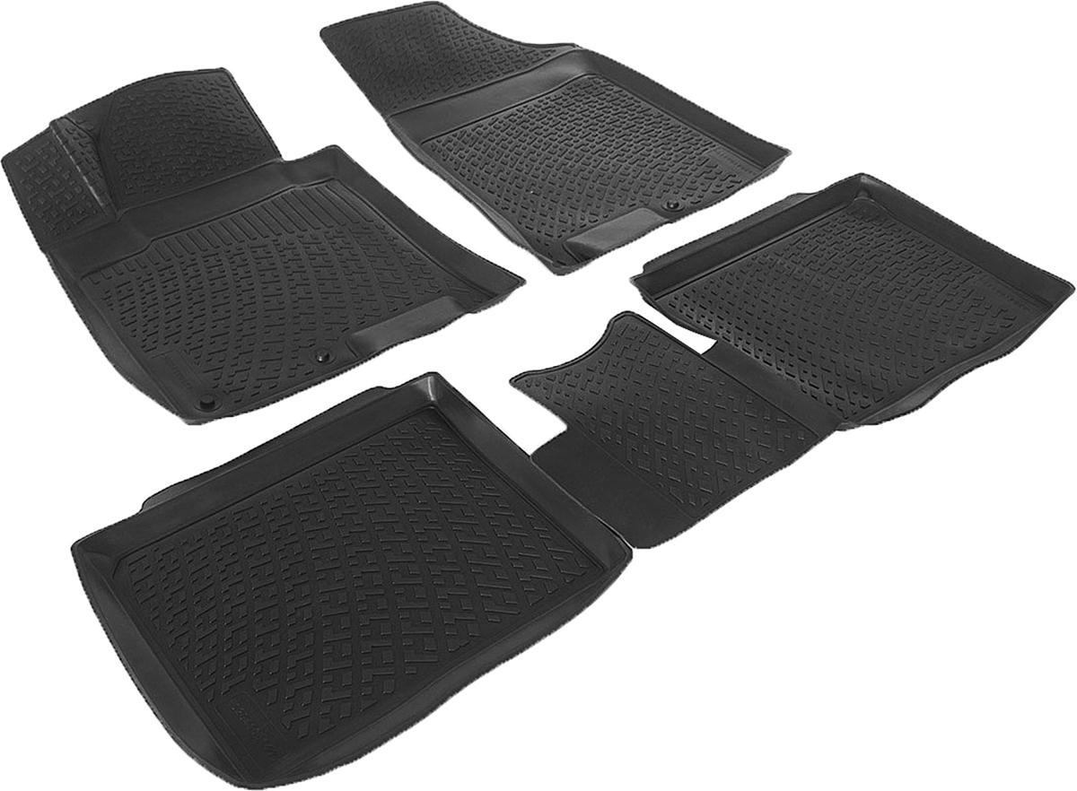 Коврики в салон автомобиля L.Locker, для Hyundai i40 (11-), 4 штCA-3505Коврики L.Locker производятся индивидуально для каждой модели автомобиля из современного и экологически чистого материала. Изделия точно повторяют геометрию пола автомобиля, имеют высокий борт, обладают повышенной износоустойчивостью, антискользящими свойствами, лишены резкого запаха и сохраняют свои потребительские свойства в широком диапазоне температур (от -50°С до +80°С). Рисунок ковриков специально спроектирован для уменьшения скольжения ног водителя и имеет достаточную глубину, препятствующую свободному перемещению жидкости и грязи на поверхности. Одновременно с этим рисунок не создает дискомфорта при вождении автомобиля. Водительский ковер с предустановленными креплениями фиксируется на штатные места в полу салона автомобиля. Новая технология системы креплений герметична, не дает влаге и грязи проникать внутрь через крепеж на обшивку пола.