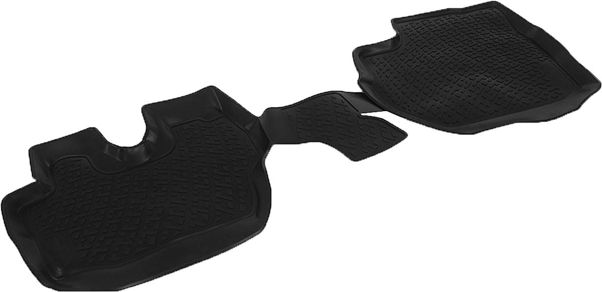 Коврики в салон автомобиля L.Locker, для Hyundai Porter II (09-), 2 штCA-3505Коврики L.Locker производятся индивидуально для каждой модели автомобиля из современного и экологически чистого материала. Изделия точно повторяют геометрию пола автомобиля, имеют высокий борт, обладают повышенной износоустойчивостью, антискользящими свойствами, лишены резкого запаха и сохраняют свои потребительские свойства в широком диапазоне температур (от -50°С до +80°С). Рисунок ковриков специально спроектирован для уменьшения скольжения ног водителя и имеет достаточную глубину, препятствующую свободному перемещению жидкости и грязи на поверхности. Одновременно с этим рисунок не создает дискомфорта при вождении автомобиля. Водительский ковер с предустановленными креплениями фиксируется на штатные места в полу салона автомобиля. Новая технология системы креплений герметична, не дает влаге и грязи проникать внутрь через крепеж на обшивку пола.