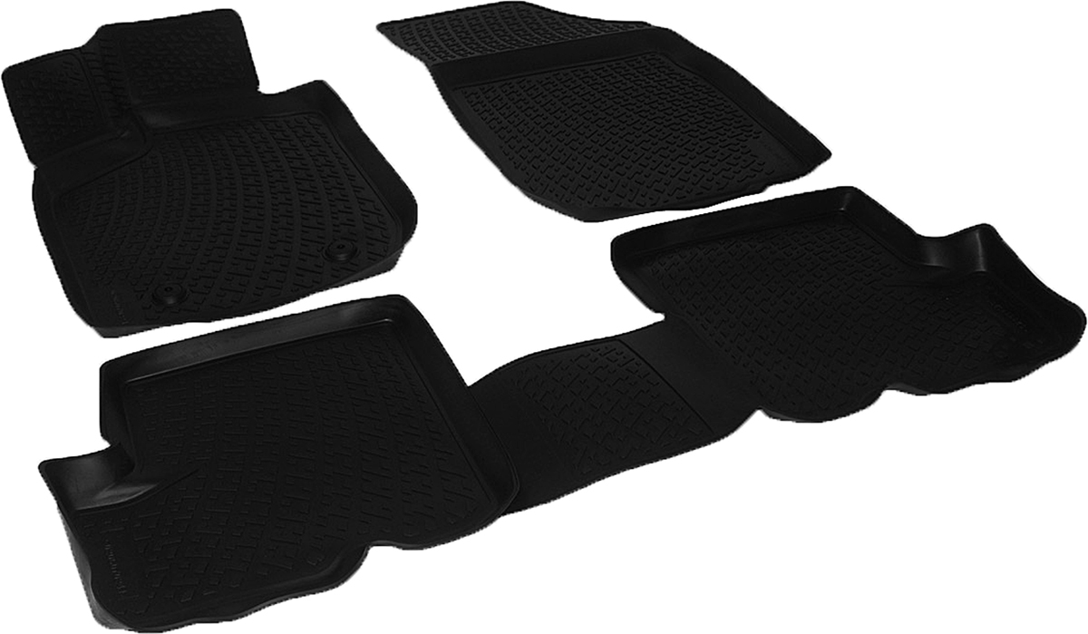 Коврики в салон автомобиля L.Locker, для Renault Sandero Stepway (10-), 4 штFS-80264Коврики L.Locker производятся индивидуально для каждой модели автомобиля из современного и экологически чистого материала. Изделия точно повторяют геометрию пола автомобиля, имеют высокий борт, обладают повышенной износоустойчивостью, антискользящими свойствами, лишены резкого запаха и сохраняют свои потребительские свойства в широком диапазоне температур (от -50°С до +80°С). Рисунок ковриков специально спроектирован для уменьшения скольжения ног водителя и имеет достаточную глубину, препятствующую свободному перемещению жидкости и грязи на поверхности. Одновременно с этим рисунок не создает дискомфорта при вождении автомобиля. Водительский ковер с предустановленными креплениями фиксируется на штатные места в полу салона автомобиля. Новая технология системы креплений герметична, не дает влаге и грязи проникать внутрь через крепеж на обшивку пола.