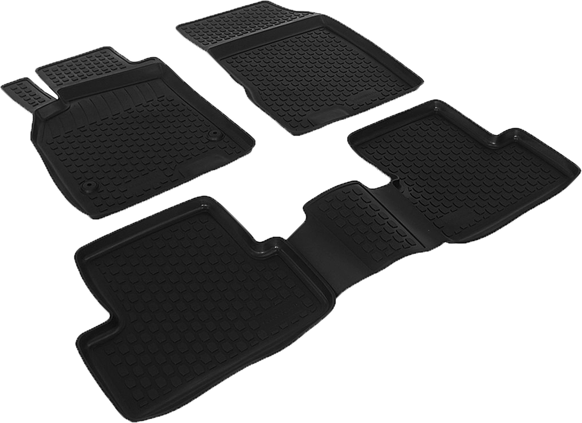 Набор автомобильных ковриков L.Locker для Renault Fluence (10-), в салон, 4 шт0113010201Коврики L.Locker производятся индивидуально для каждой модели автомобиля из современного и экологически чистого материала, точно повторяют геометрию пола автомобиля, имеют высокий борт от 3 см до 4 см, обладают повышенной износоустойчивостью, антискользящими свойствами, лишены резкого запаха, сохраняют свои потребительские свойства в широком диапазоне температур (от -50°С до +80°С).