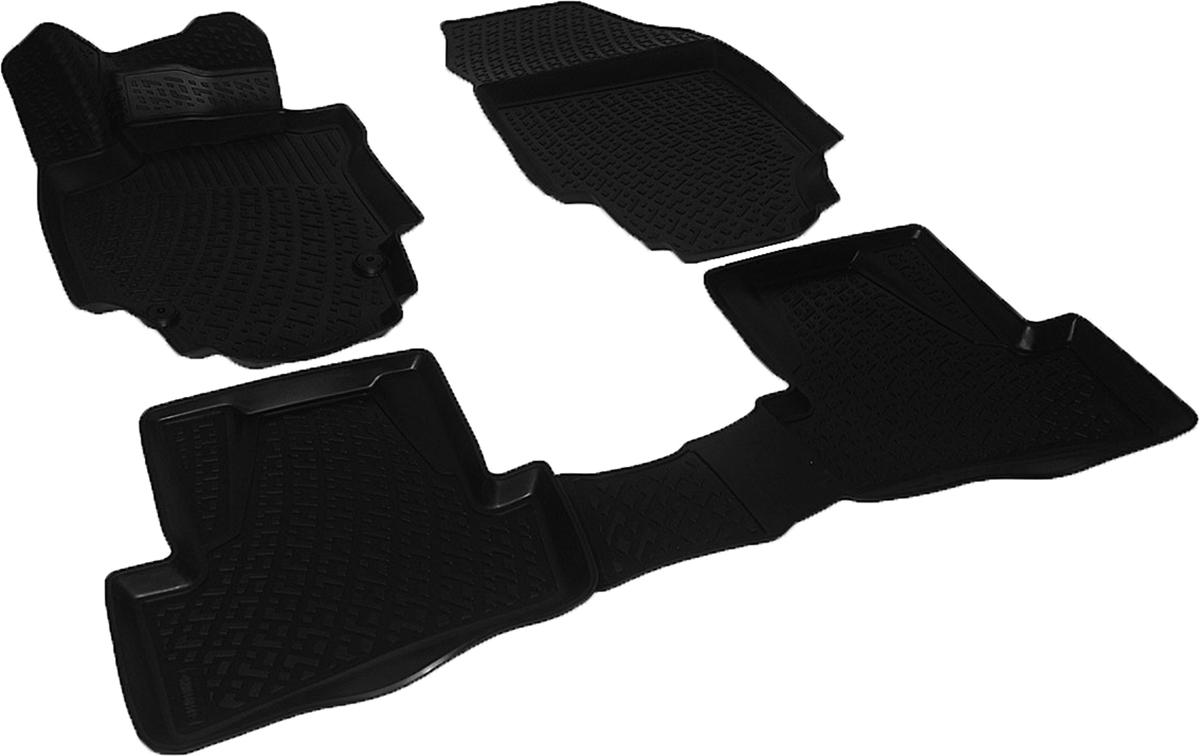 Коврики в салон автомобиля L.Locker, для Renault Captur (14-)0205010301Коврики L.Locker производятся индивидуально для каждой модели автомобиля из современного и экологически чистого материала. Изделия точно повторяют геометрию пола автомобиля, имеют высокий борт, обладают повышенной износоустойчивостью, антискользящими свойствами, лишены резкого запаха и сохраняют свои потребительские свойства в широком диапазоне температур (от -50°С до +80°С). Рисунок ковриков специально спроектирован для уменьшения скольжения ног водителя и имеет достаточную глубину, препятствующую свободному перемещению жидкости и грязи на поверхности. Одновременно с этим рисунок не создает дискомфорта при вождении автомобиля. Водительский ковер с предустановленными креплениями фиксируется на штатные места в полу салона автомобиля. Новая технология системы креплений герметична, не дает влаге и грязи проникать внутрь через крепеж на обшивку пола.