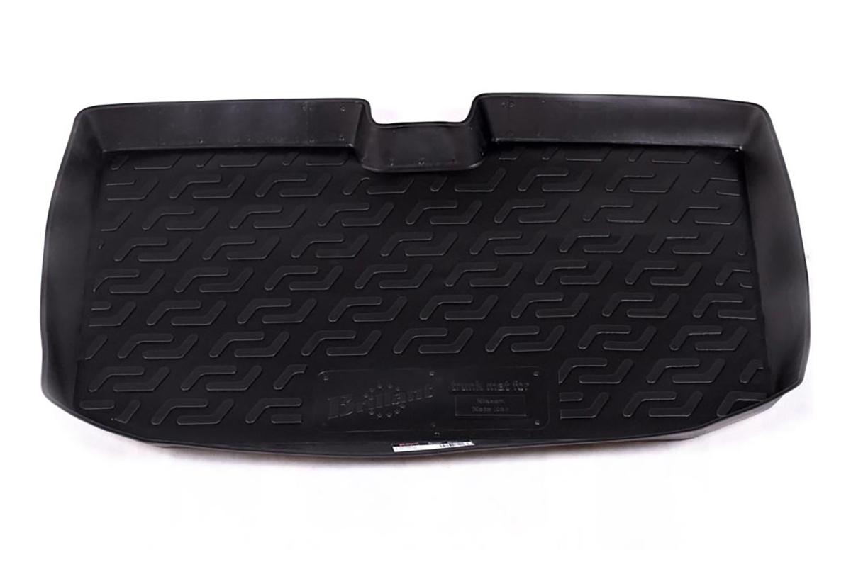 Коврик в багажник L.Locker, для Nissan Note hb (06-), верхний0129030201Коврик L.Locker производится индивидуально для каждой модели автомобиля из современного и экологически чистого материала. Изделие точно повторяют геометрию пола автомобиля, имеет высокий борт, обладает повышенной износоустойчивостью, антискользящими свойствами, лишен резкого запаха и сохраняет свои потребительские свойства в широком диапазоне температур (от -50°С до +80°С).