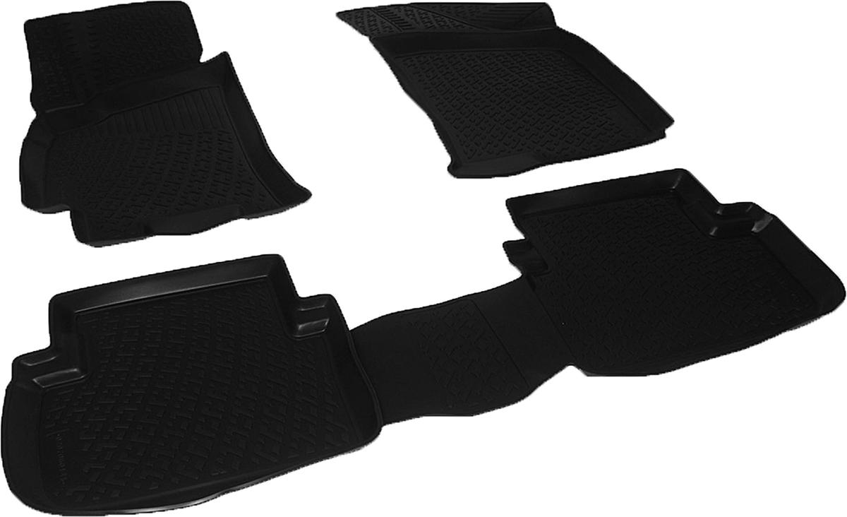 Коврики в салон автомобиля L.Locker, для Chevrolet Lanos (96-)Ветерок 2ГФКоврики L.Locker производятся индивидуально для каждой модели автомобиля из современного и экологически чистого материала. Изделия точно повторяют геометрию пола автомобиля, имеют высокий борт, обладают повышенной износоустойчивостью, антискользящими свойствами, лишены резкого запаха и сохраняют свои потребительские свойства в широком диапазоне температур (от -50°С до +80°С). Рисунок ковриков специально спроектирован для уменьшения скольжения ног водителя и имеет достаточную глубину, препятствующую свободному перемещению жидкости и грязи на поверхности. Одновременно с этим рисунок не создает дискомфорта при вождении автомобиля. Водительский ковер с предустановленными креплениями фиксируется на штатные места в полу салона автомобиля. Новая технология системы креплений герметична, не дает влаге и грязи проникать внутрь через крепеж на обшивку пола.