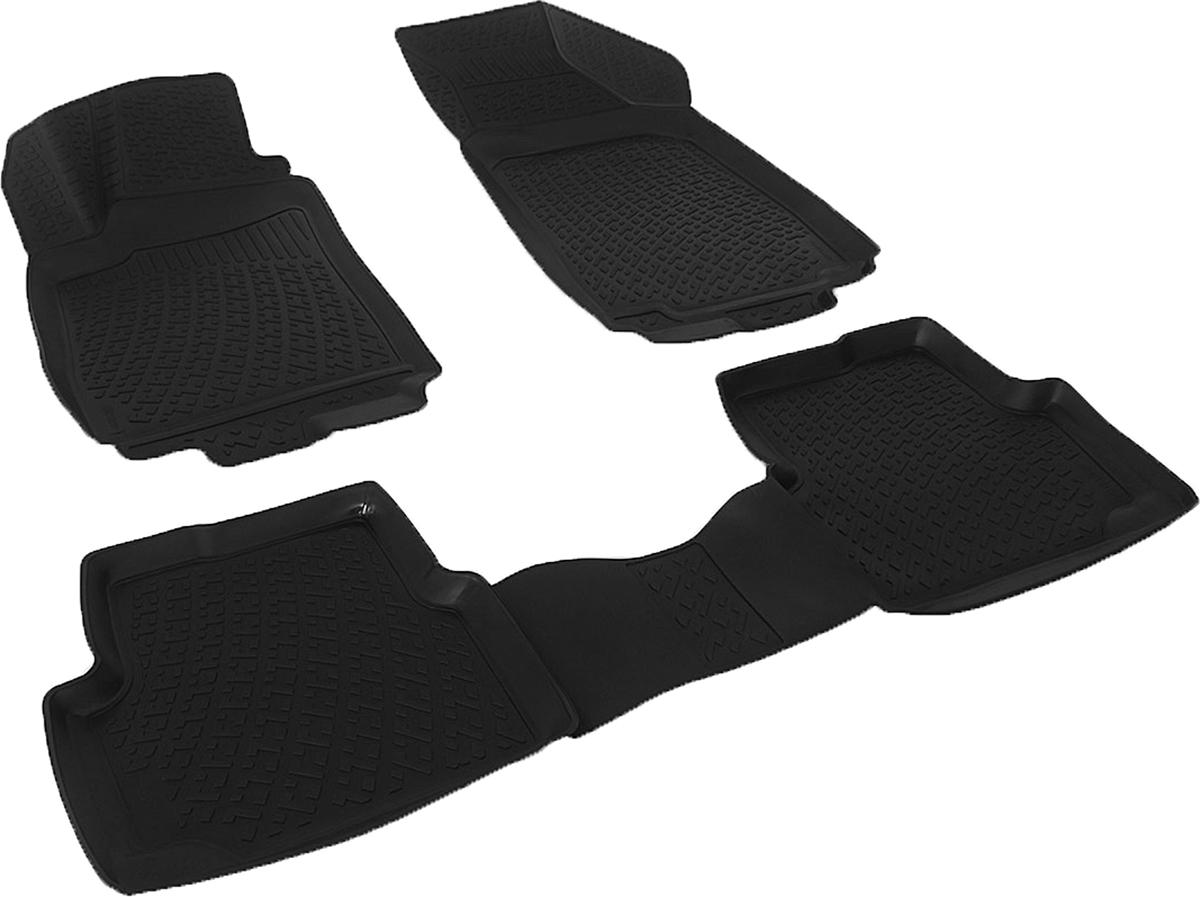 Коврики в салон автомобиля L.Locker, для Chevrolet Cobalt sd (12-)CA-3505Коврики L.Locker производятся индивидуально для каждой модели автомобиля из современного и экологически чистого материала. Изделия точно повторяют геометрию пола автомобиля, имеют высокий борт, обладают повышенной износоустойчивостью, антискользящими свойствами, лишены резкого запаха и сохраняют свои потребительские свойства в широком диапазоне температур (от -50°С до +80°С). Рисунок ковриков специально спроектирован для уменьшения скольжения ног водителя и имеет достаточную глубину, препятствующую свободному перемещению жидкости и грязи на поверхности. Одновременно с этим рисунок не создает дискомфорта при вождении автомобиля. Водительский ковер с предустановленными креплениями фиксируется на штатные места в полу салона автомобиля. Новая технология системы креплений герметична, не дает влаге и грязи проникать внутрь через крепеж на обшивку пола.