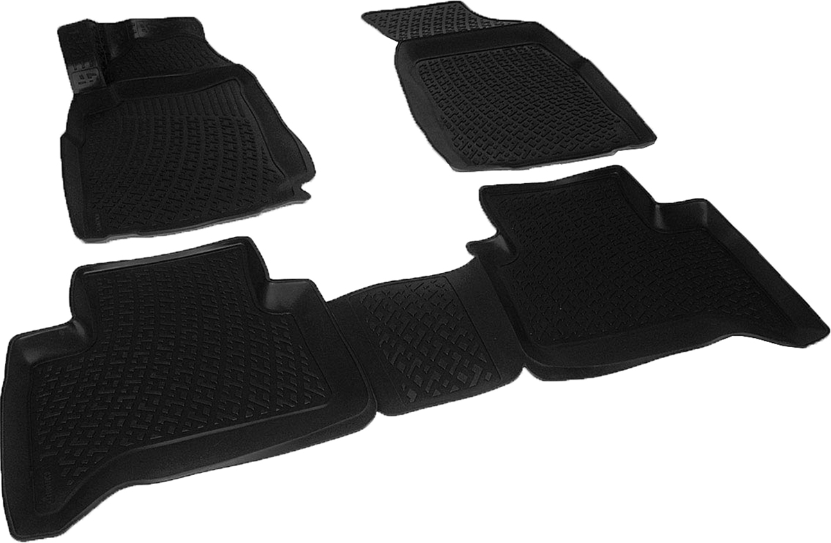 Коврики в салон автомобиля L.Locker, для Сhevrolet TrailBlazer II (12-)FS-80264Коврики L.Locker производятся индивидуально для каждой модели автомобиля из современного и экологически чистого материала. Изделия точно повторяют геометрию пола автомобиля, имеют высокий борт, обладают повышенной износоустойчивостью, антискользящими свойствами, лишены резкого запаха и сохраняют свои потребительские свойства в широком диапазоне температур (от -50°С до +80°С). Рисунок ковриков специально спроектирован для уменьшения скольжения ног водителя и имеет достаточную глубину, препятствующую свободному перемещению жидкости и грязи на поверхности. Одновременно с этим рисунок не создает дискомфорта при вождении автомобиля. Водительский ковер с предустановленными креплениями фиксируется на штатные места в полу салона автомобиля. Новая технология системы креплений герметична, не дает влаге и грязи проникать внутрь через крепеж на обшивку пола.