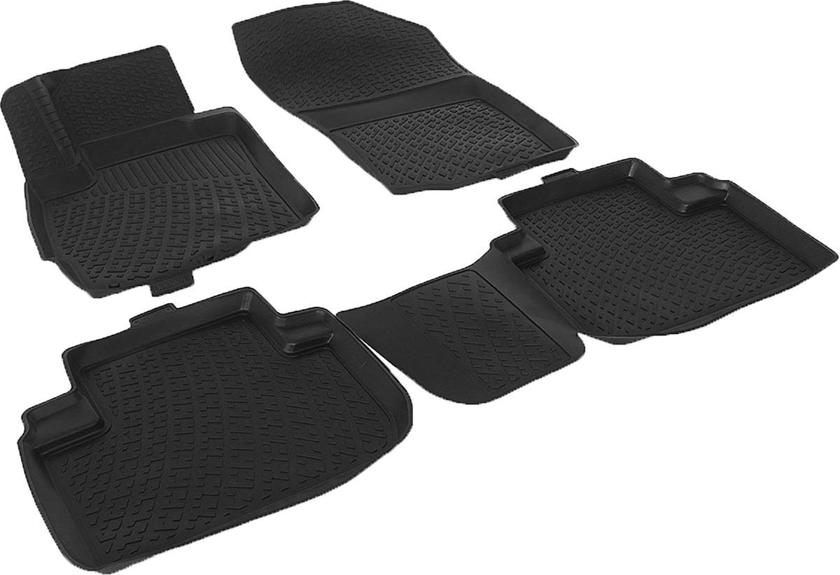 Коврики в салон автомобиля L.Locker, для Mitsubishi Outlander III (12-)Ветерок 2ГФКоврики L.Locker производятся индивидуально для каждой модели автомобиля из современного и экологически чистого материала. Изделия точно повторяют геометрию пола автомобиля, имеют высокий борт, обладают повышенной износоустойчивостью, антискользящими свойствами, лишены резкого запаха и сохраняют свои потребительские свойства в широком диапазоне температур (от -50°С до +80°С). Рисунок ковриков специально спроектирован для уменьшения скольжения ног водителя и имеет достаточную глубину, препятствующую свободному перемещению жидкости и грязи на поверхности. Одновременно с этим рисунок не создает дискомфорта при вождении автомобиля. Водительский ковер с предустановленными креплениями фиксируется на штатные места в полу салона автомобиля. Новая технология системы креплений герметична, не дает влаге и грязи проникать внутрь через крепеж на обшивку пола.