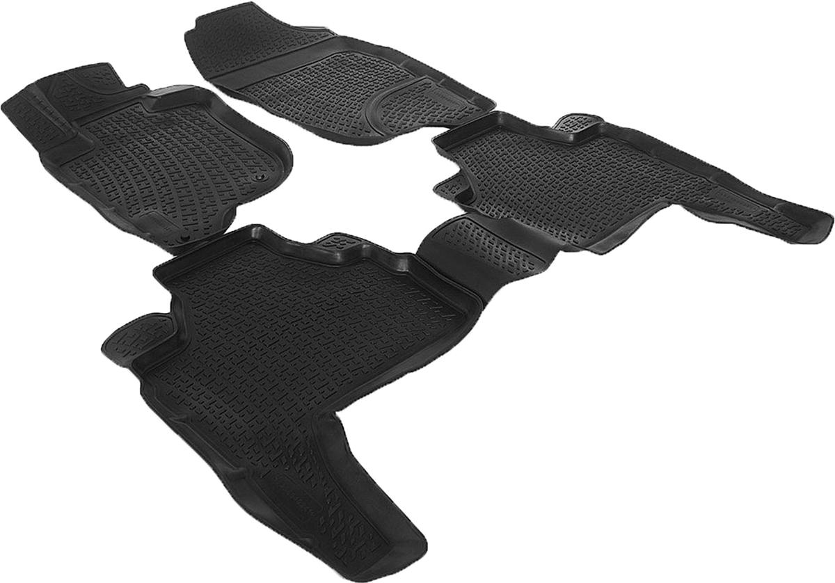 Набор автомобильных 3D-ковриков L.Locker для Mitsubishi Pajero Sport II (08-), в салон, 4 штFS-80264Коврики L.Locker производятся индивидуально для каждой модели автомобиля из современного и экологически чистого материала, точно повторяют геометрию пола автомобиля, имеют высокий борт от 3 см до 4 см, обладают повышенной износоустойчивостью, антискользящими свойствами, лишены резкого запаха, сохраняют свои потребительские свойства в широком диапазоне температур (от -50°С до +80°С).