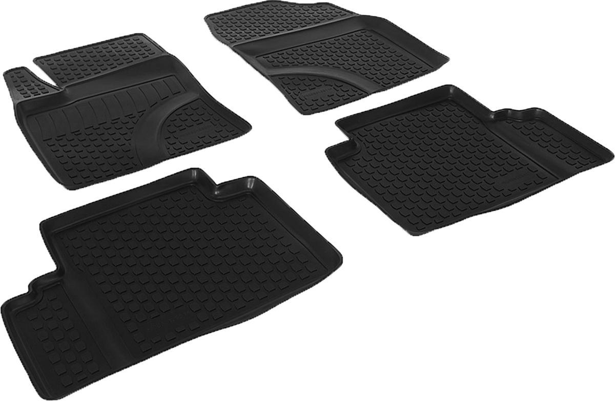 Коврики в салон автомобиля L.Locker, для Toyota Avensis (09-), 4 шт0205010301Коврики L.Locker производятся индивидуально для каждой модели автомобиля из современного и экологически чистого материала. Изделия точно повторяют геометрию пола автомобиля, имеют высокий борт, обладают повышенной износоустойчивостью, антискользящими свойствами, лишены резкого запаха и сохраняют свои потребительские свойства в широком диапазоне температур (от -50°С до +80°С). Рисунок ковриков специально спроектирован для уменьшения скольжения ног водителя и имеет достаточную глубину, препятствующую свободному перемещению жидкости и грязи на поверхности. Одновременно с этим рисунок не создает дискомфорта при вождении автомобиля. Водительский ковер с предустановленными креплениями фиксируется на штатные места в полу салона автомобиля. Новая технология системы креплений герметична, не дает влаге и грязи проникать внутрь через крепеж на обшивку пола.