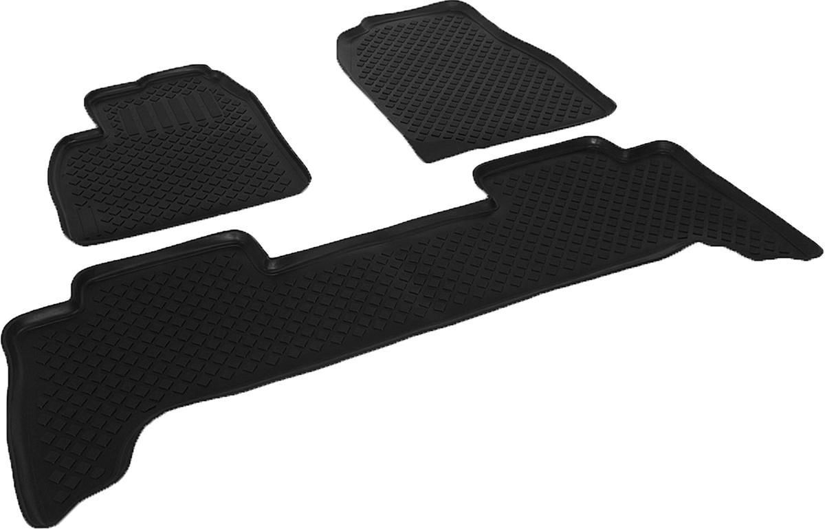 Набор автомобильных ковриков L.Locker для Toyota Land Cruiser 100 (98-), в салон, 4 шт