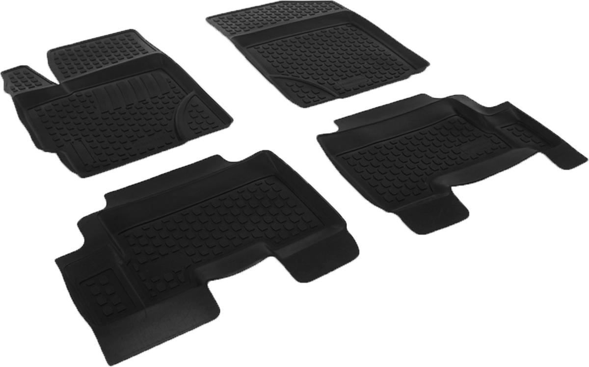 Набор автомобильных ковриков L.Locker для Toyota Yaris (05-), в салон, 4 шт0209040501Коврики L.Locker производятся индивидуально для каждой модели автомобиля из современного и экологически чистого материала, точно повторяют геометрию пола автомобиля, имеют высокий борт от 3 см до 4 см, обладают повышенной износоустойчивостью, антискользящими свойствами, лишены резкого запаха, сохраняют свои потребительские свойства в широком диапазоне температур (от -50°С до +80°С).