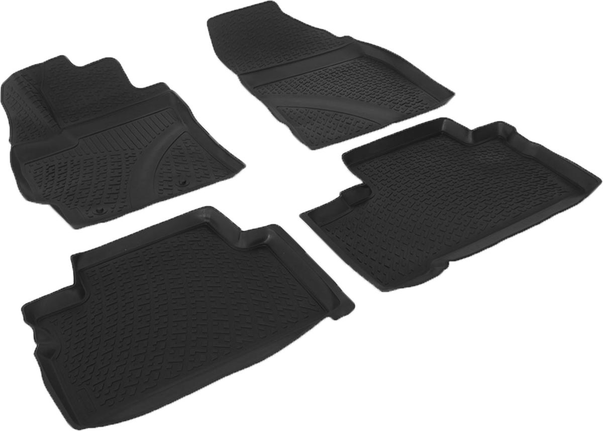 Коврики в салон автомобиля L.Locker, для Toyota Verso II (12-)Ветерок 2ГФКоврики L.Locker производятся индивидуально для каждой модели автомобиля из современного и экологически чистого материала. Изделия точно повторяют геометрию пола автомобиля, имеют высокий борт, обладают повышенной износоустойчивостью, антискользящими свойствами, лишены резкого запаха и сохраняют свои потребительские свойства в широком диапазоне температур (от -50°С до +80°С). Рисунок ковриков специально спроектирован для уменьшения скольжения ног водителя и имеет достаточную глубину, препятствующую свободному перемещению жидкости и грязи на поверхности. Одновременно с этим рисунок не создает дискомфорта при вождении автомобиля. Водительский ковер с предустановленными креплениями фиксируется на штатные места в полу салона автомобиля. Новая технология системы креплений герметична, не дает влаге и грязи проникать внутрь через крепеж на обшивку пола.