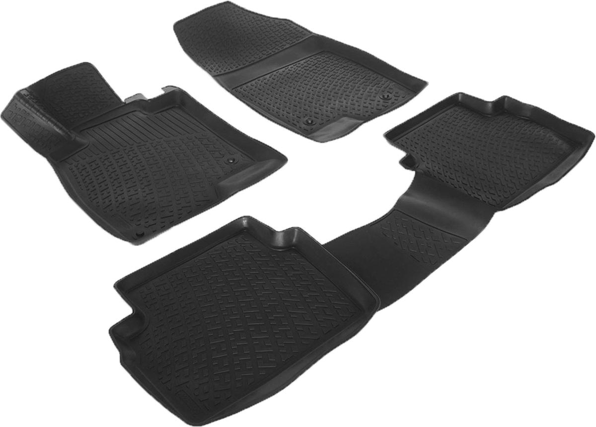 Коврики в салон автомобиля L.Locker, для Mazda 3 III (13-)CA-3505Коврики L.Locker производятся индивидуально для каждой модели автомобиля из современного и экологически чистого материала. Изделия точно повторяют геометрию пола автомобиля, имеют высокий борт, обладают повышенной износоустойчивостью, антискользящими свойствами, лишены резкого запаха и сохраняют свои потребительские свойства в широком диапазоне температур (от -50°С до +80°С). Рисунок ковриков специально спроектирован для уменьшения скольжения ног водителя и имеет достаточную глубину, препятствующую свободному перемещению жидкости и грязи на поверхности. Одновременно с этим рисунок не создает дискомфорта при вождении автомобиля. Водительский ковер с предустановленными креплениями фиксируется на штатные места в полу салона автомобиля. Новая технология системы креплений герметична, не дает влаге и грязи проникать внутрь через крепеж на обшивку пола.