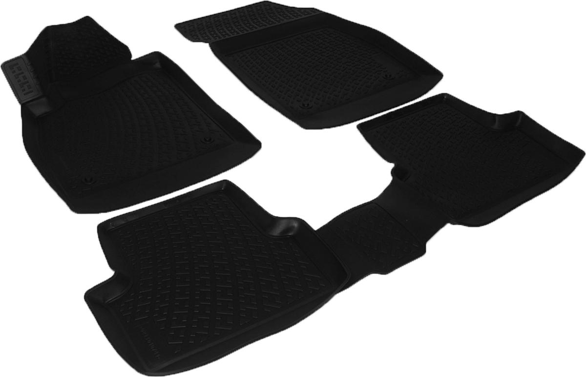 Коврики в салон автомобиля L.Locker, для Opel Astra J GTC (11-), 3 штCA-3505Коврики L.Locker производятся индивидуально для каждой модели автомобиля из современного и экологически чистого материала. Изделия точно повторяют геометрию пола автомобиля, имеют высокий борт, обладают повышенной износоустойчивостью, антискользящими свойствами, лишены резкого запаха и сохраняют свои потребительские свойства в широком диапазоне температур (от -50°С до +80°С). Рисунок ковриков специально спроектирован для уменьшения скольжения ног водителя и имеет достаточную глубину, препятствующую свободному перемещению жидкости и грязи на поверхности. Одновременно с этим рисунок не создает дискомфорта при вождении автомобиля. Водительский ковер с предустановленными креплениями фиксируется на штатные места в полу салона автомобиля. Новая технология системы креплений герметична, не дает влаге и грязи проникать внутрь через крепеж на обшивку пола.