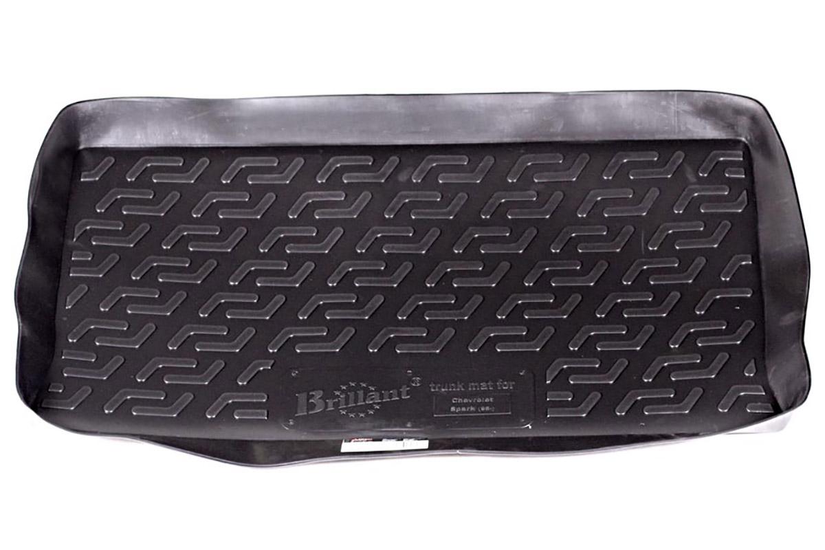 Коврик в багажник Chevrolet Spark hb (05-) полиуретан21395599Коврики производятся индивидуально для каждой модели автомобиля из современного и экологически чистого материала, точно повторяют геометрию пола автомобиля, имеют высокий борт от 4 см до 6 см., обладают повышенной износоустойчивостью, антискользящими свойствами, лишены резкого запаха, сохраняют свои потребительские свойства в широком диапазоне температур (-50 +80 С).
