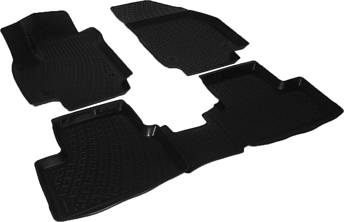 Коврики в салон автомобиля L.Locker, для Opel Meriva (02-), 4 штВетерок 2ГФКоврики L.Locker производятся индивидуально для каждой модели автомобиля из современного и экологически чистого материала. Изделия точно повторяют геометрию пола автомобиля, имеют высокий борт, обладают повышенной износоустойчивостью, антискользящими свойствами, лишены резкого запаха и сохраняют свои потребительские свойства в широком диапазоне температур (от -50°С до +80°С). Рисунок ковриков специально спроектирован для уменьшения скольжения ног водителя и имеет достаточную глубину, препятствующую свободному перемещению жидкости и грязи на поверхности. Одновременно с этим рисунок не создает дискомфорта при вождении автомобиля. Водительский ковер с предустановленными креплениями фиксируется на штатные места в полу салона автомобиля. Новая технология системы креплений герметична, не дает влаге и грязи проникать внутрь через крепеж на обшивку пола.