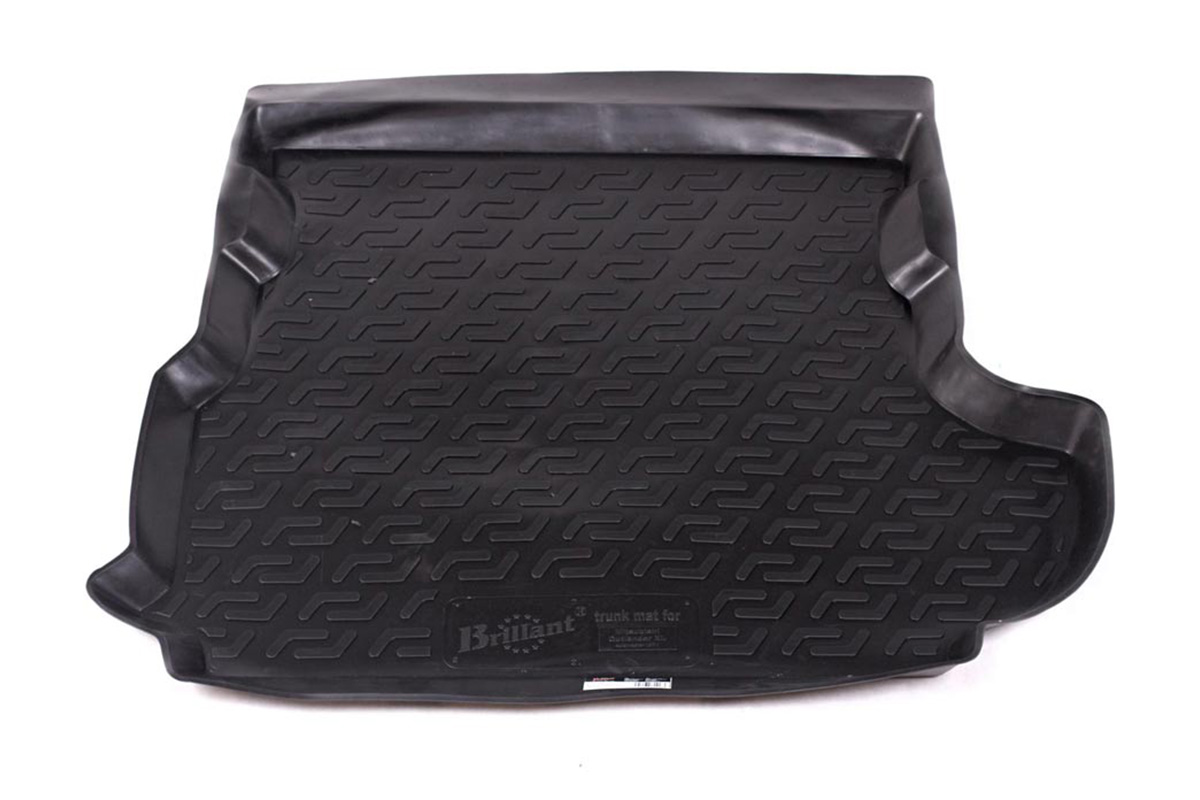 Коврик автомобильный L.Locker для Mitsubishi Outlander XL сабвуфер (07-), в багажникFS-80423Коврики L.Locker производятся индивидуально для каждой модели автомобиля из современного и экологически чистого материала, точно повторяют геометрию пола автомобиля, имеют высокий борт от 4 см до 6 см, обладают повышенной износоустойчивостью, антискользящими свойствами, лишены резкого запаха, сохраняют свои потребительские свойства в широком диапазоне температур (от -50°С до +80°С).