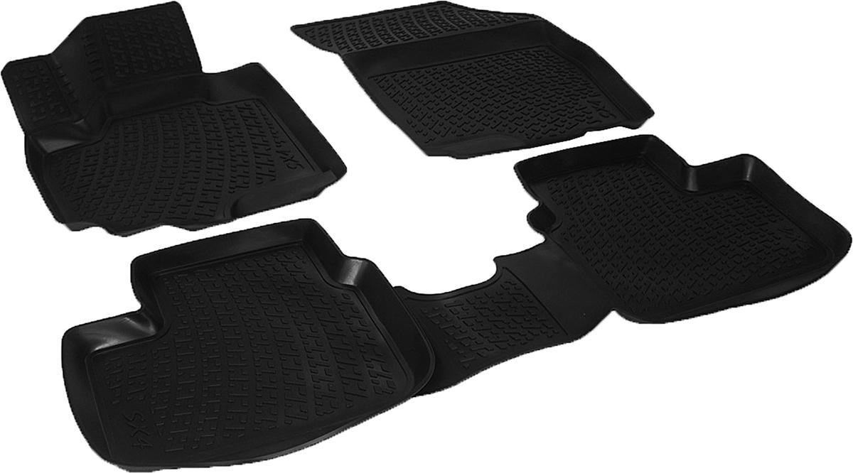 Коврики в салон автомобиля L.Locker, для Suzuki SX4 (13-)Ветерок 2ГФКоврики L.Locker производятся индивидуально для каждой модели автомобиля из современного и экологически чистого материала. Изделия точно повторяют геометрию пола автомобиля, имеют высокий борт, обладают повышенной износоустойчивостью, антискользящими свойствами, лишены резкого запаха и сохраняют свои потребительские свойства в широком диапазоне температур (от -50°С до +80°С). Рисунок ковриков специально спроектирован для уменьшения скольжения ног водителя и имеет достаточную глубину, препятствующую свободному перемещению жидкости и грязи на поверхности. Одновременно с этим рисунок не создает дискомфорта при вождении автомобиля. Водительский ковер с предустановленными креплениями фиксируется на штатные места в полу салона автомобиля. Новая технология системы креплений герметична, не дает влаге и грязи проникать внутрь через крепеж на обшивку пола.