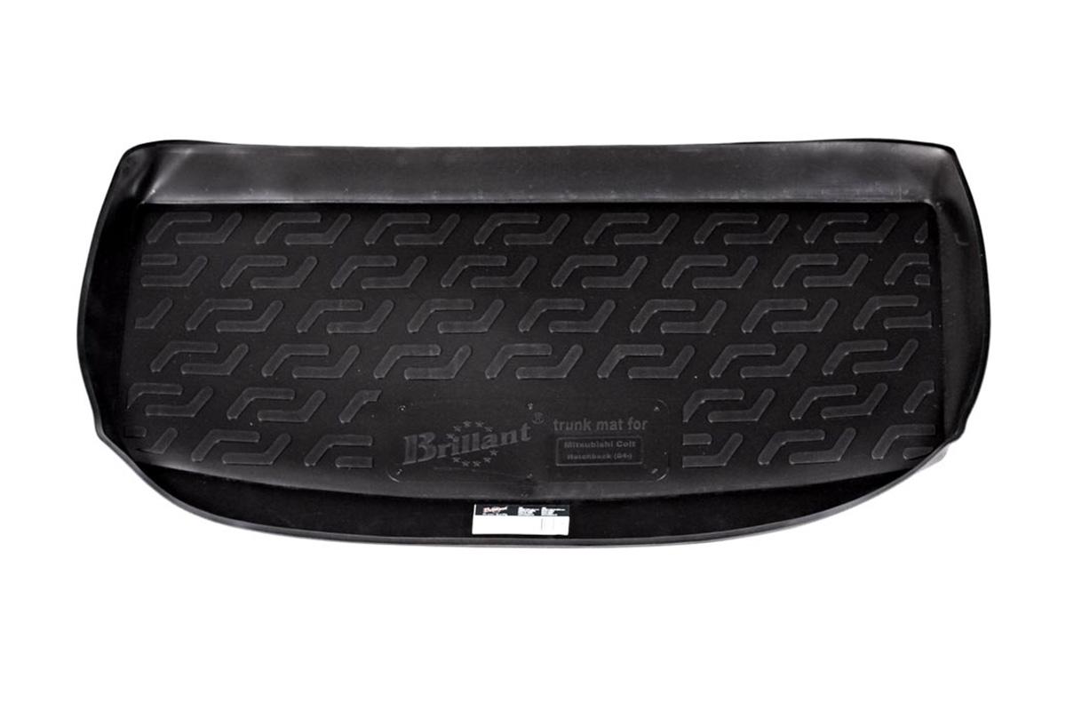 Коврик в багажник Mitsubishi Colt hb (04-) полиуретан21395599Коврики производятся индивидуально для каждой модели автомобиля из современного и экологически чистого материала, точно повторяют геометрию пола автомобиля, имеют высокий борт от 4 см до 6 см., обладают повышенной износоустойчивостью, антискользящими свойствами, лишены резкого запаха, сохраняют свои потребительские свойства в широком диапазоне температур (-50 +80 С).