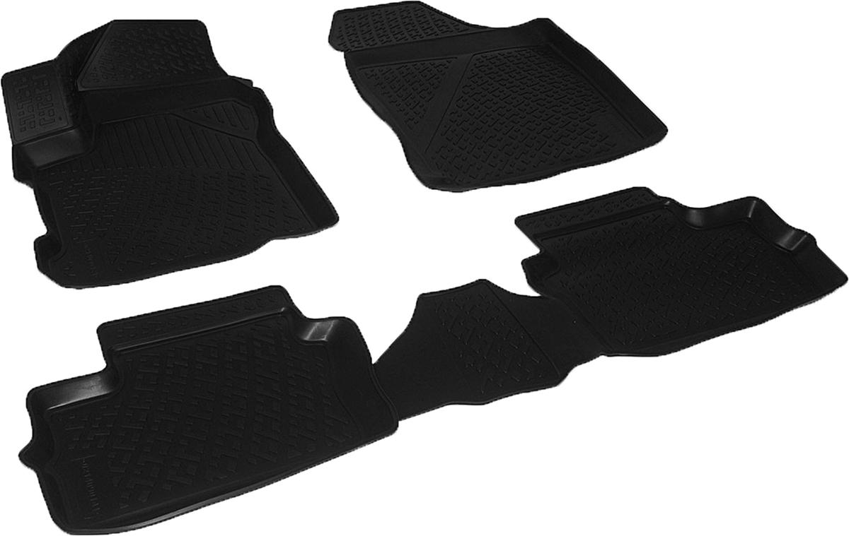 Коврики в салон автомобиля L.Locker, для Chery IndiS (S18D) (10-)LGT.76.02.B13Коврики L.Locker производятся индивидуально для каждой модели автомобиля из современного и экологически чистого материала. Изделия точно повторяют геометрию пола автомобиля, имеют высокий борт, обладают повышенной износоустойчивостью, антискользящими свойствами, лишены резкого запаха и сохраняют свои потребительские свойства в широком диапазоне температур (от -50°С до +80°С). Рисунок ковриков специально спроектирован для уменьшения скольжения ног водителя и имеет достаточную глубину, препятствующую свободному перемещению жидкости и грязи на поверхности. Одновременно с этим рисунок не создает дискомфорта при вождении автомобиля. Водительский ковер с предустановленными креплениями фиксируется на штатные места в полу салона автомобиля. Новая технология системы креплений герметична, не дает влаге и грязи проникать внутрь через крепеж на обшивку пола.