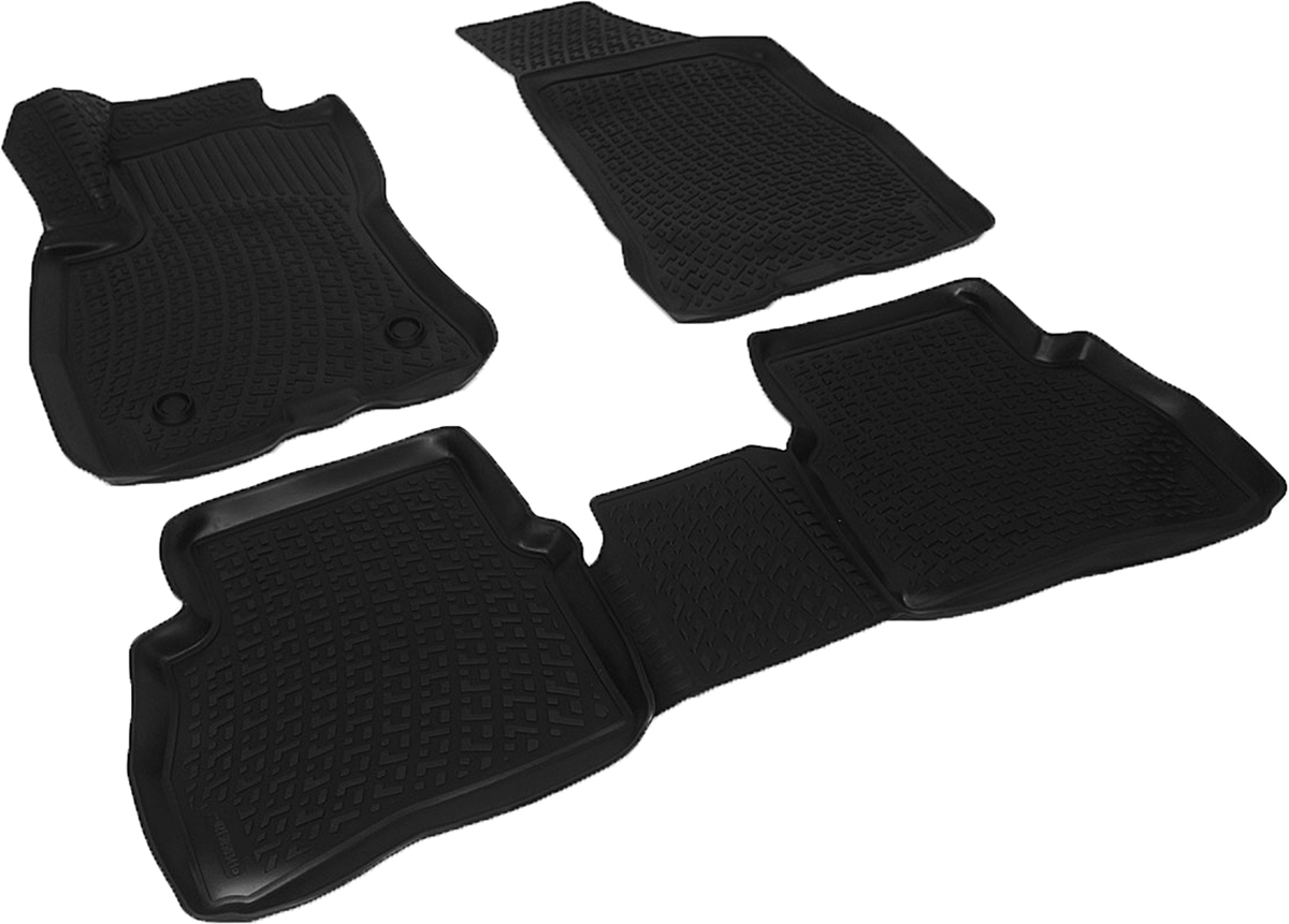 Коврики в салон автомобиля L.Locker, для Fiat Doblo II (15-)Ветерок 2ГФКоврики L.Locker производятся индивидуально для каждой модели автомобиля из современного и экологически чистого материала. Изделия точно повторяют геометрию пола автомобиля, имеют высокий борт, обладают повышенной износоустойчивостью, антискользящими свойствами, лишены резкого запаха и сохраняют свои потребительские свойства в широком диапазоне температур (от -50°С до +80°С). Рисунок ковриков специально спроектирован для уменьшения скольжения ног водителя и имеет достаточную глубину, препятствующую свободному перемещению жидкости и грязи на поверхности. Одновременно с этим рисунок не создает дискомфорта при вождении автомобиля. Водительский ковер с предустановленными креплениями фиксируется на штатные места в полу салона автомобиля. Новая технология системы креплений герметична, не дает влаге и грязи проникать внутрь через крепеж на обшивку пола.