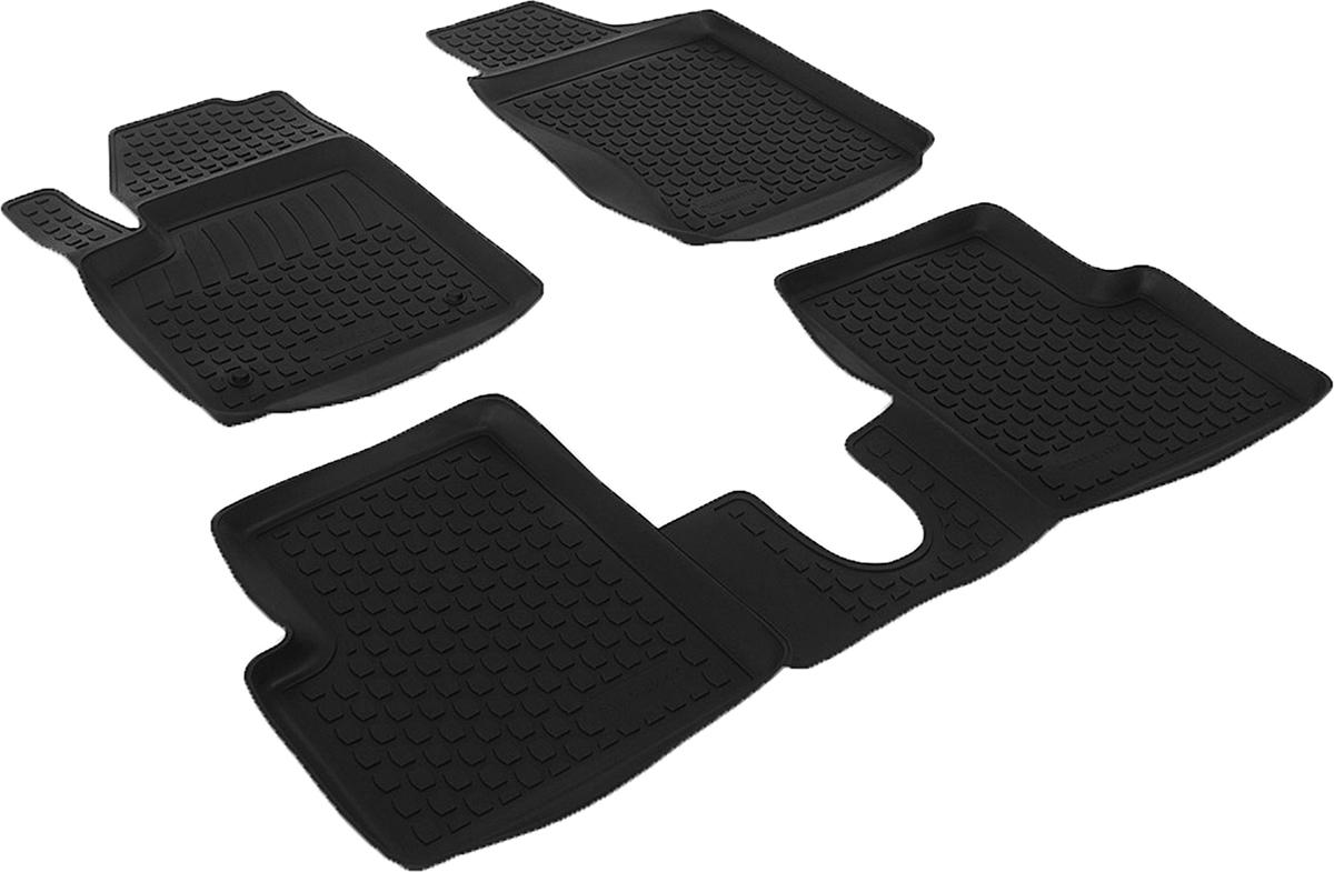 Коврики в салон автомобиля L.Locker, для Fiat 500 (08-), 3 шт80621Коврики L.Locker производятся индивидуально для каждой модели автомобиля из современного и экологически чистого материала. Изделия точно повторяют геометрию пола автомобиля, имеют высокий борт, обладают повышенной износоустойчивостью, антискользящими свойствами, лишены резкого запаха и сохраняют свои потребительские свойства в широком диапазоне температур (от -50°С до +80°С). Рисунок ковриков специально спроектирован для уменьшения скольжения ног водителя и имеет достаточную глубину, препятствующую свободному перемещению жидкости и грязи на поверхности. Одновременно с этим рисунок не создает дискомфорта при вождении автомобиля. Водительский ковер с предустановленными креплениями фиксируется на штатные места в полу салона автомобиля. Новая технология системы креплений герметична, не дает влаге и грязи проникать внутрь через крепеж на обшивку пола.