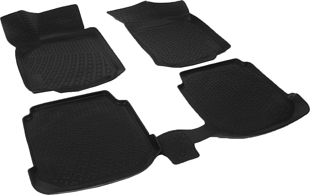 Коврики в салон автомобиля L.Locker, для Skoda Octavia I Tour (96-), 4 шт21395598Коврики L.Locker производятся индивидуально для каждой модели автомобиля из современного и экологически чистого материала. Изделия точно повторяют геометрию пола автомобиля, имеют высокий борт, обладают повышенной износоустойчивостью, антискользящими свойствами, лишены резкого запаха и сохраняют свои потребительские свойства в широком диапазоне температур (от -50°С до +80°С). Рисунок ковриков специально спроектирован для уменьшения скольжения ног водителя и имеет достаточную глубину, препятствующую свободному перемещению жидкости и грязи на поверхности. Одновременно с этим рисунок не создает дискомфорта при вождении автомобиля. Водительский ковер с предустановленными креплениями фиксируется на штатные места в полу салона автомобиля. Новая технология системы креплений герметична, не дает влаге и грязи проникать внутрь через крепеж на обшивку пола.