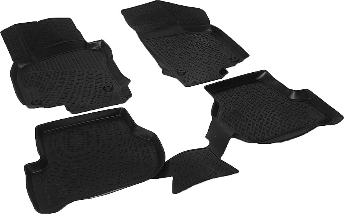 Коврики в салон автомобиля L.Locker, для Skoda Octavia II (04-)/Octavia II FL (09-)72/14/11Коврики L.Locker производятся индивидуально для каждой модели автомобиля из современного и экологически чистого материала. Изделия точно повторяют геометрию пола автомобиля, имеют высокий борт, обладают повышенной износоустойчивостью, антискользящими свойствами, лишены резкого запаха и сохраняют свои потребительские свойства в широком диапазоне температур (от -50°С до +80°С). Рисунок ковриков специально спроектирован для уменьшения скольжения ног водителя и имеет достаточную глубину, препятствующую свободному перемещению жидкости и грязи на поверхности. Одновременно с этим рисунок не создает дискомфорта при вождении автомобиля. Водительский ковер с предустановленными креплениями фиксируется на штатные места в полу салона автомобиля. Новая технология системы креплений герметична, не дает влаге и грязи проникать внутрь через крепеж на обшивку пола.