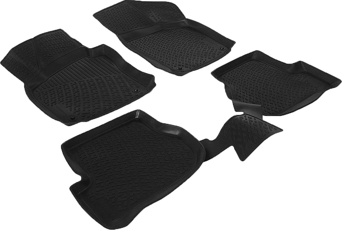 Коврики в салон автомобиля L.Locker, для Skoda Octavia II (04-)/Octavia II FL (09-) boxCA-3505Коврики L.Locker производятся индивидуально для каждой модели автомобиля из современного и экологически чистого материала. Изделия точно повторяют геометрию пола автомобиля, имеют высокий борт, обладают повышенной износоустойчивостью, антискользящими свойствами, лишены резкого запаха и сохраняют свои потребительские свойства в широком диапазоне температур (от -50°С до +80°С). Рисунок ковриков специально спроектирован для уменьшения скольжения ног водителя и имеет достаточную глубину, препятствующую свободному перемещению жидкости и грязи на поверхности. Одновременно с этим рисунок не создает дискомфорта при вождении автомобиля. Водительский ковер с предустановленными креплениями фиксируется на штатные места в полу салона автомобиля. Новая технология системы креплений герметична, не дает влаге и грязи проникать внутрь через крепеж на обшивку пола.